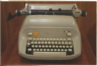 Gaines typewriter